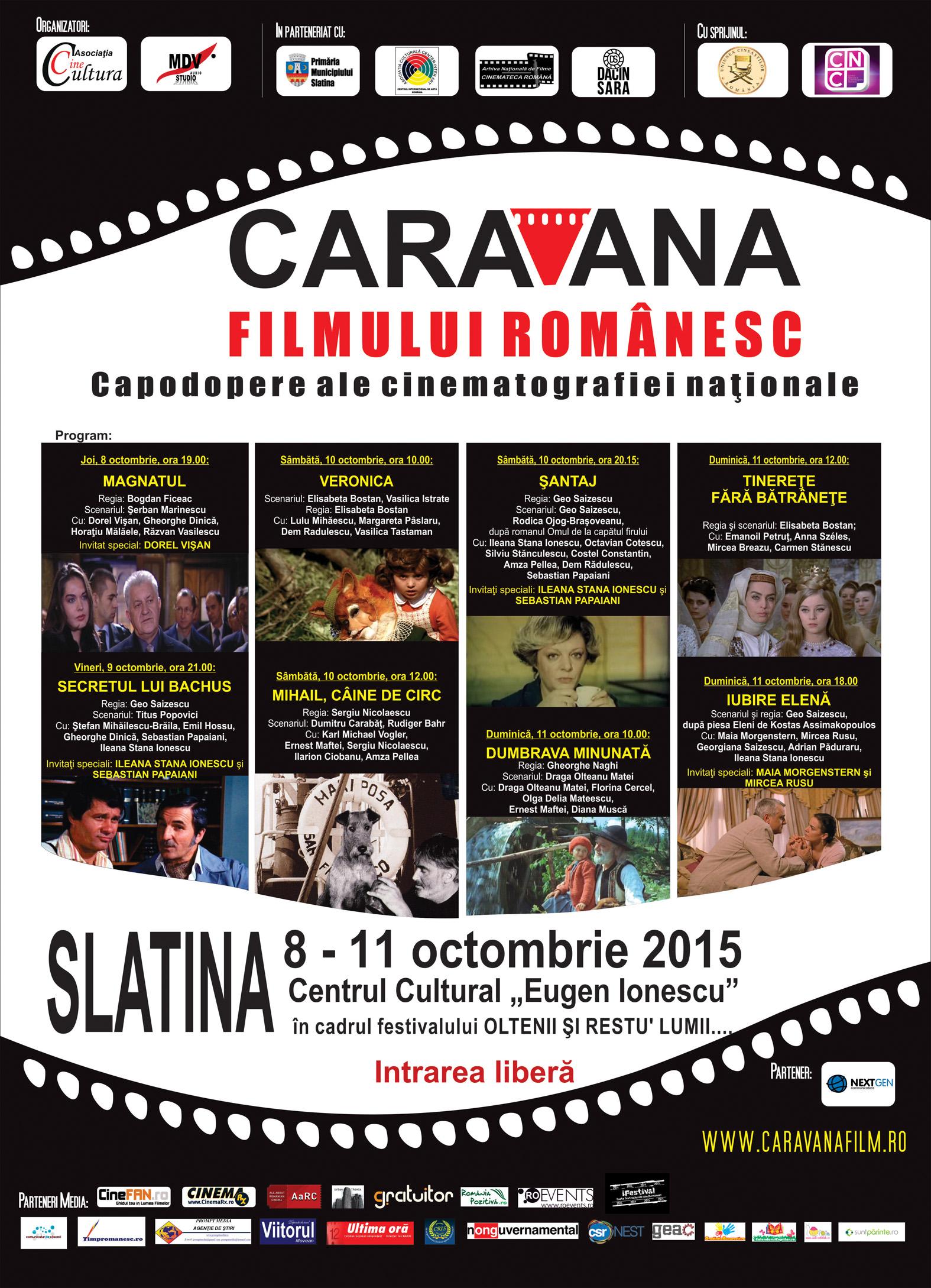 Afis Caravana la Slatina 2015
